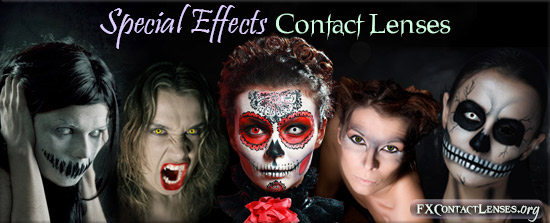 Special Effects Contacts
