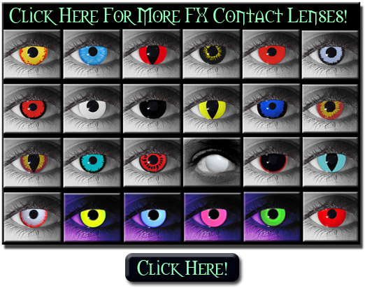More Special Effects and FX Theatrical Contact Lenses featured in our store  sc 1 th 199 & FX Contact Lenses: Costume Theatrical Special Effects Contacts