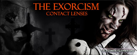 The Exorcist Contact Lenses