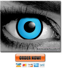 Blue Manson Gothic Contact Lenses