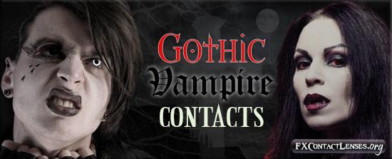 Gothic Vampire FX Contact Lenses