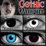 Gothika Brand Goth Vampire Special Effects Contacts
