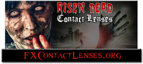 Risen Dead Zombie Contact Lenses