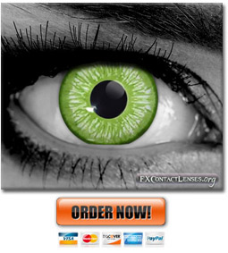 Amelia Green Underworld Contact Lenses