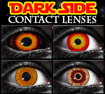 Dark Side Sith contact lenses