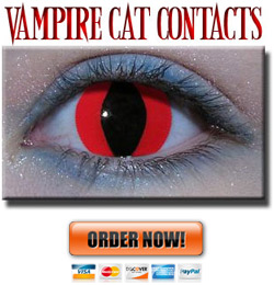 Vampire Red Contact Lenses