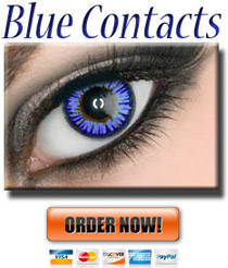 Blue Colored ColorMax Contacts