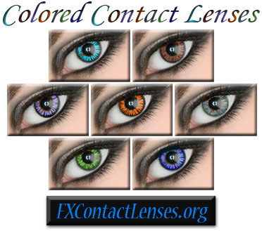 Coloured Contact Lenses
