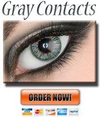 Gray Colored Contact Lenses