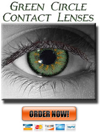 Green Envy Circle Lenses