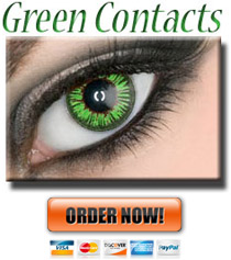 Green Colored ColorMax Contacts