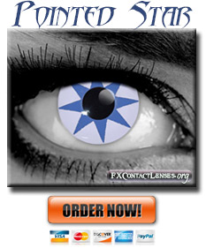 Pointed Star Contact Lenses