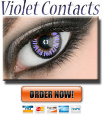 Violet Colored ColorMax Contacts