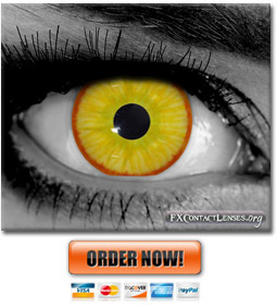 Avatar Special Effects Custom Contact Lenses