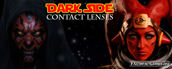 The Darkside Contact Lenses
