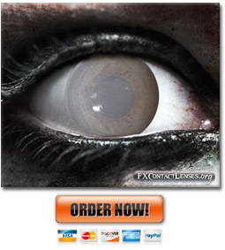 Frosty Zombie Contact Lenses