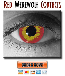Red Werewolf Contacts