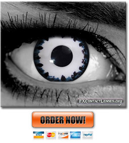 Zombified Contact Lenses