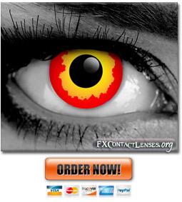 Darth Maul Gothika Contact Lenses