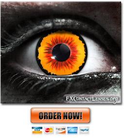 Incubus Custom SFX Contact Lenses