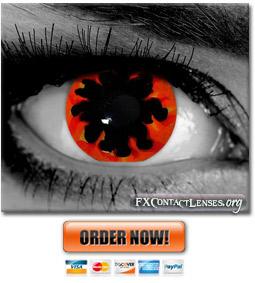 Inferno Custom SFX Contact Lenses