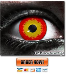 Maul Custom SFX Contact Lenses