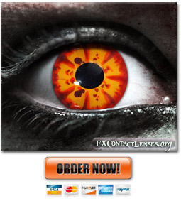 Rage Custom SFX Contact Lenses