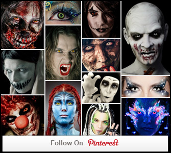 Check out our Pinterest Special Effects makeup Ideas