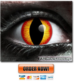 Scary Banshee Contact Lenses