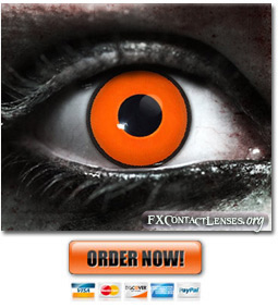 Scary Night Stalker Contact Lenses