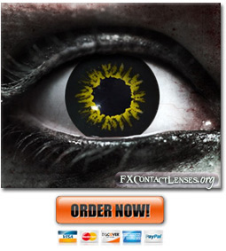 Scary WereWolf Contact Lenses