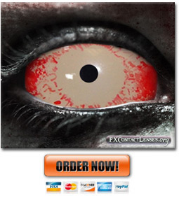 Walking Dead Contact Lenses