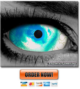 WWZ Zombie Sclera Contact Lenses