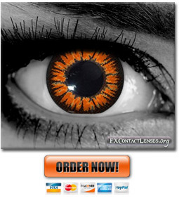 Golden Twilight Gothika Contact Lenses