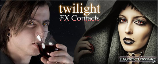 Twilight Special Effects Contact Lenses