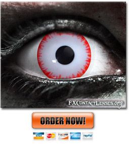 Orc Berserker Contact Lenses