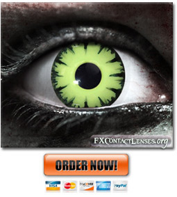 Woodland Orc Contact Lenses