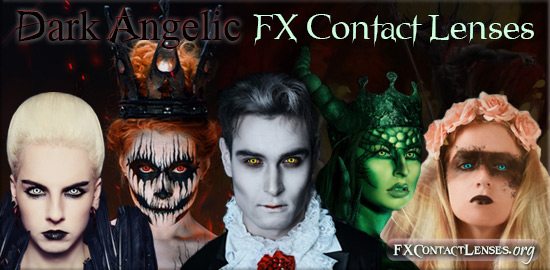 Dark Angelic FX Contact Lenses