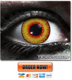 Scary Dragons Breath Contact Lenses