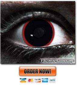 Scary Hellraiser Contact Lenses