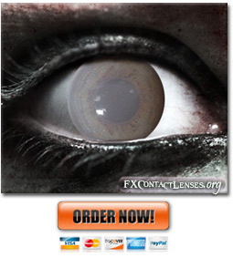Scary Walking Dead Contact Lenses